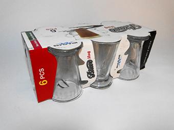 (English) Bravo Glass Mug