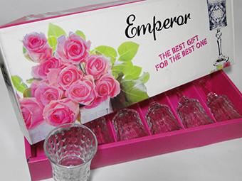 (English) Emperor Glass Stemware