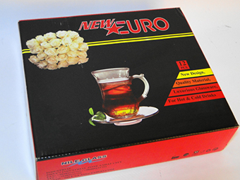 (English) New Euro Glass Mug