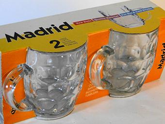 (English) Madrid Mug