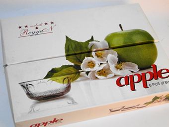 (English) Apple Mug